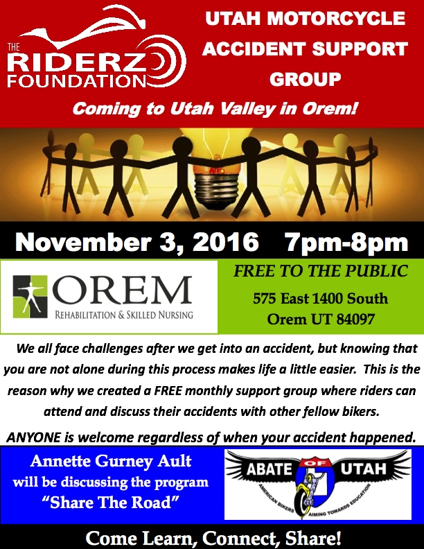 November Orem meeting